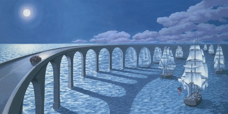 Toward the Horizon -Rob Gonsalves